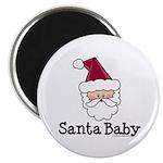 Santa Baby Christmas Magnet