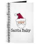 Santa Baby Christmas Journal