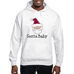 Santa Baby Christmas Hooded Sweatshirt