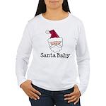 Santa Baby Christmas Women's Long Sleeve T-Shirt