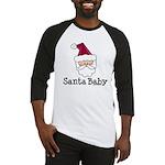 Santa Baby Christmas Baseball Jersey