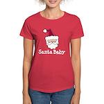 Santa Baby Christmas Women's Dark T-Shirt