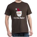 Santa Baby Christmas Dark T-Shirt