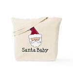 Santa Baby Christmas Tote Bag