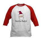 Santa Baby Christmas Kids Baseball Jersey