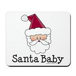 Santa Baby Christmas Mousepad