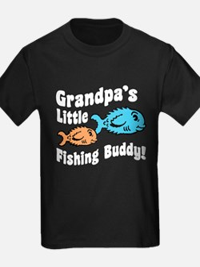 Grandpa's Little Fishing Buddy T