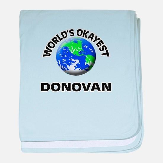 World's Okayest Donovan baby blanket