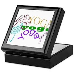Yoga Keepsake Box