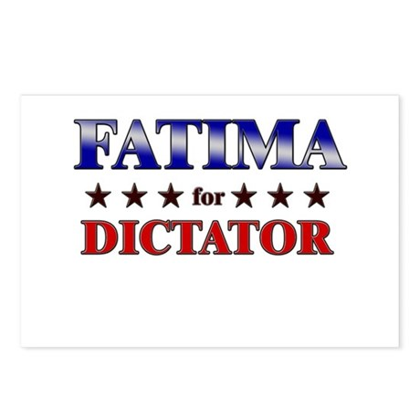 FATIMA for dictator Postcards (Package of 8)