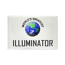World's Greatest ILLUMINATOR Rectangle Magnet