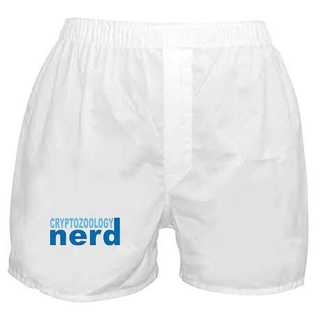 Cryptozoology Nerd Boxer Shorts