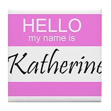 Katherine Tile Coaster