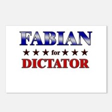 FABIAN for dictator Postcards (Package of 8)