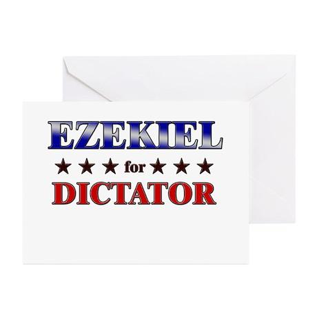 EZEKIEL for dictator Greeting Cards (Pk of 20)