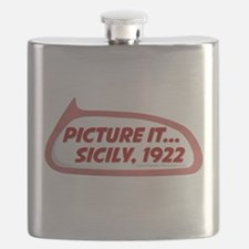 Picture It... Sicily, 1922 Flask