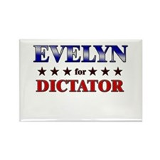 EVELYN for dictator Rectangle Magnet