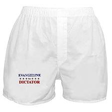 EVANGELINE for dictator Boxer Shorts