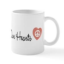 Peace in Our Hearts Mug