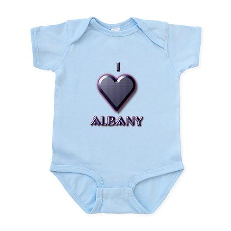 I Love Albany #5 Infant Bodysuit