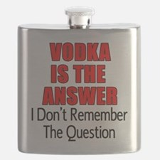 Vodka Is The Answer Flask