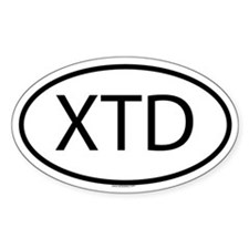 XTD Oval Decal