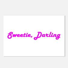 Sweetie Darling Postcards (Package of 8)