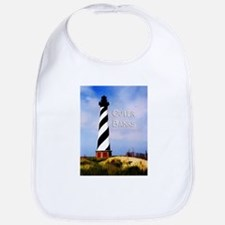 Cape Hatteras Lighthouse Poster Text Outer Ban Bib