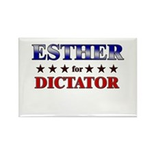 ESTHER for dictator Rectangle Magnet
