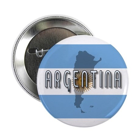 "Argentina Flag Extra 2.25"" Button (100 pack)"