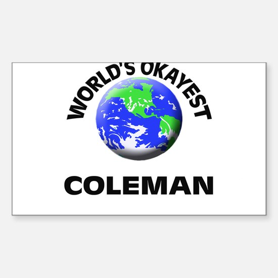 World's Okayest Coleman Decal