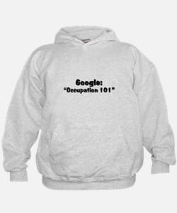 "Google:  ""Occupation 101"" Hoodie"