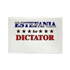 ESTEFANIA for dictator Rectangle Magnet