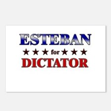 ESTEBAN for dictator Postcards (Package of 8)