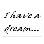 I have a dream... Postcards (Package of 8)