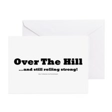 Over the Hill Greeting Cards (Pk of 10)