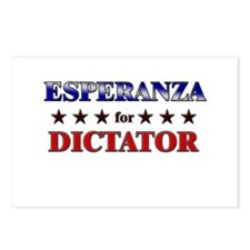 ESPERANZA for dictator Postcards (Package of 8)