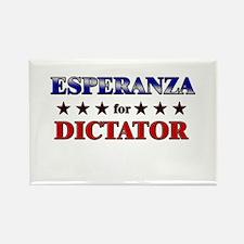 ESPERANZA for dictator Rectangle Magnet