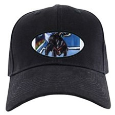 FRENCH BULLDOG blk Moon Desig Baseball Hat
