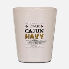 The Cajun Navy Neighbors Helping Neighb Shot Glass