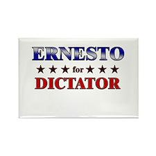 ERNESTO for dictator Rectangle Magnet