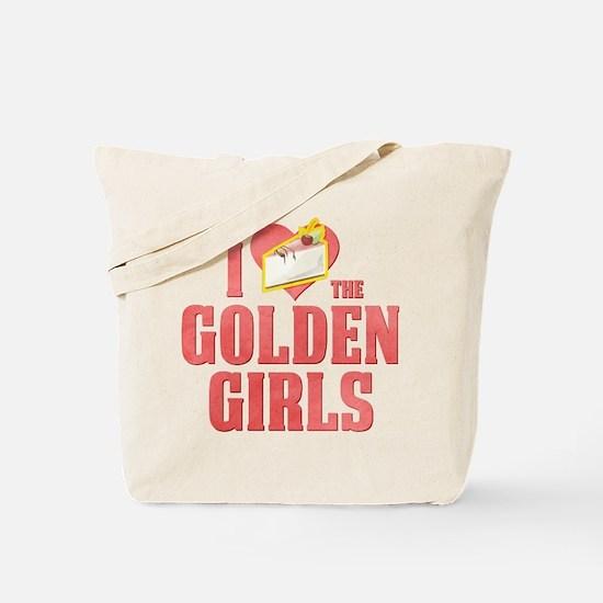 I Heart Golden Girls Tote Bag