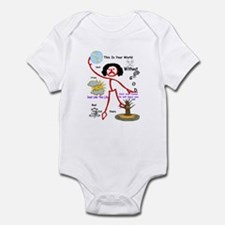 This Is Your World Without Go Infant Bodysuit