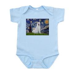 Starry Night - Akita 2 Infant Bodysuit