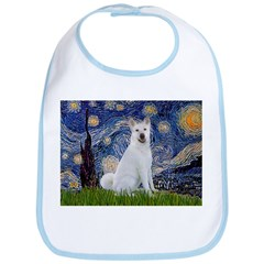 Starry Night - Akita 2 Bib