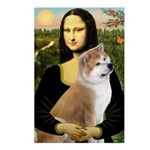 Mona / Akita (br&w) Postcards (Package of 8)