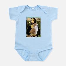 Mona / Akita (br&w) Infant Bodysuit