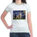 Starry - Akita3 Jr. Ringer T-Shirt