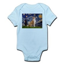 Starry - Akita3 Infant Bodysuit