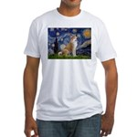 Starry - Akita3 Fitted T-Shirt